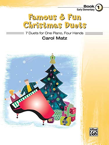 9780739098882: Famous & Fun Christmas Duets 1: 7 Duets for One Piano, Four Hands