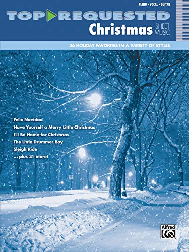 9780739098950: Top-Requested Christmas Sheet Music: Piano/Vocal/Guitar (Top-Requested Sheet Music)