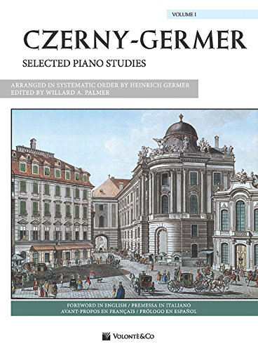 9780739099353: Czerny-Germer -- Selected Piano Studies, Vol 1: Spanish / French / Italian Language Edition (Volonte Masterwork Edition) (French Edition)
