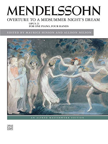 9780739099469: Overture to A Midsummer Night's Dream, Op. 21 (Alfred Masterwork Edition)