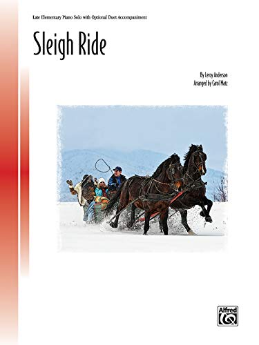 Sleigh Ride Format: Sheet: By Leroy Anderson