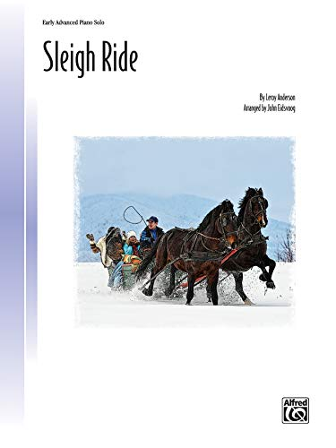 Sleigh Ride: Sheet (Popular Performer Series): Anderson, Leroy, Eidsvoog,
