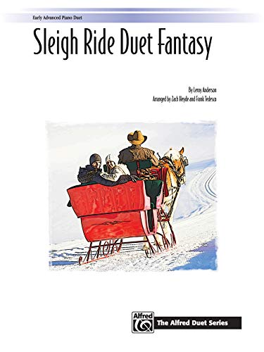 9780739099650: Sleigh Ride Duet Fantasy: Sheet (The Alfred Duet Series: Duet Fantasy)
