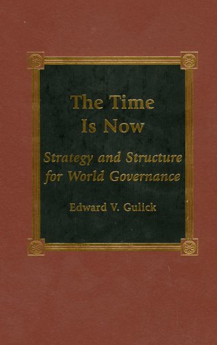 The Time is Now: Gulick, Edward V.