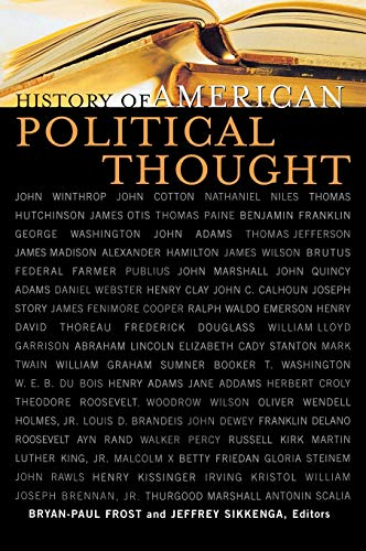 9780739106235: History of American Political Thought (Applications of Political Theory)