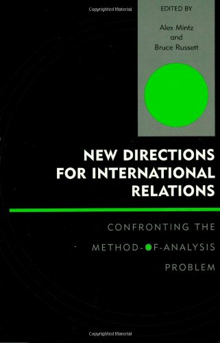 9780739108482: New Directions for International Relations: Confronting the Method-of-Analysis Problem (Innovations in the Study of World Politics)