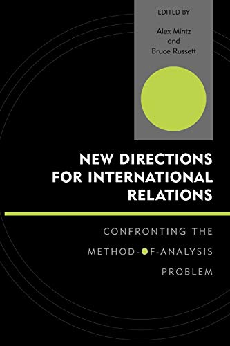 9780739108499: New Directions for International Relations: Confronting the Method-of-Analysis Problem (Innovations in the Study of World Politics)