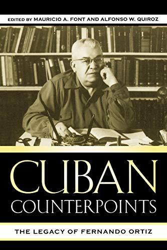 9780739109687: Cuban Counterpoints: The Legacy of Fernando Ortiz (Bildner Western Hemisphere Studies)