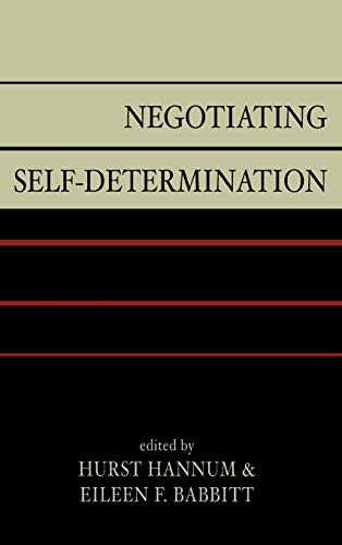 9780739112519: Negotiating Self-determination