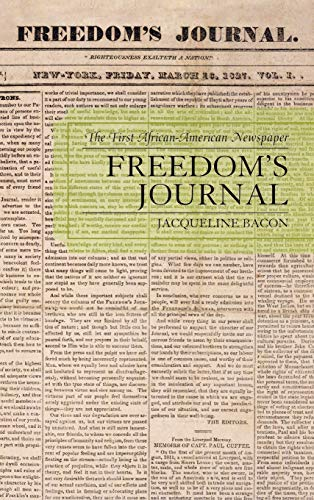 9780739118931: Freedom's Journal: The First African-American Newspaper
