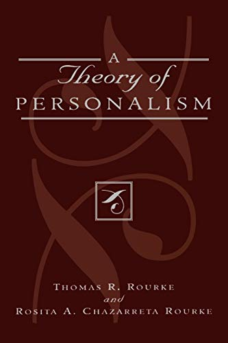 9780739120217: A Theory of Personalism