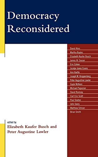 9780739124802: Democracy Reconsidered