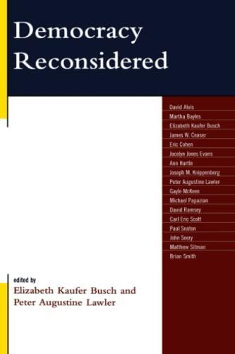 9780739124819: Democracy Reconsidered