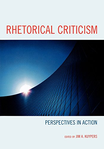 9780739127742: Rhetorical Criticism: Perspectives in Action (Lexington Studies in Political Communication)