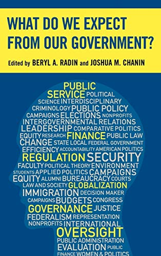 What Do We Expect from Our Government? (Hardback)