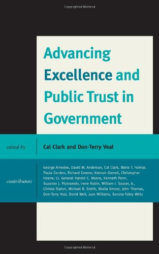 Advancing Excellence and Public Trust in Government: Cal Clark; Contributor-George