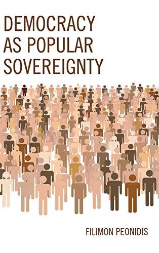 9780739179383: Democracy as Popular Sovereignty