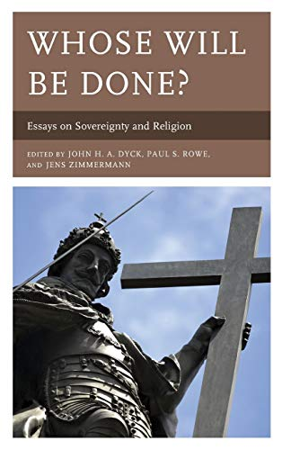 Whose Will Be Done?: Essays on Sovereignty: Books, Lexington