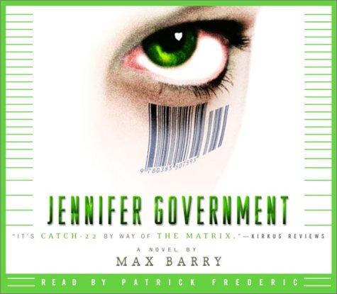 9780739302361: Jennifer Government: A Novel