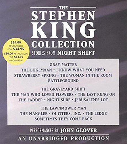 9780739317365: The Stephen King Collection: Stories From Night Shift: Gray Matter / The Graveyard Shift / The Lawnmower Man