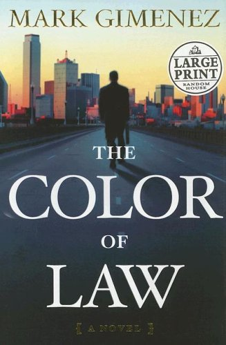 9780739325575: The Color of Law (Random House Large Print)