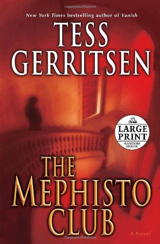 9780739326244: Mephisto Club (Random House Large Print)