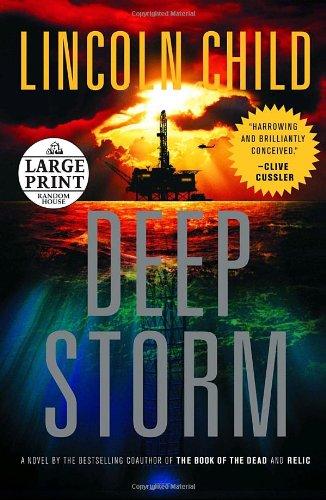 9780739326398: Deep Storm: A Novel (Random House Large Print)