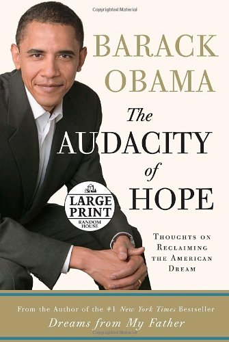 9780739326657: The Audacity of Hope: Thoughts on Reclaiming the American Dream (Random House Large Print)