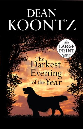 9780739327425: The Darkest Evening of the Year (Random House Large Print)