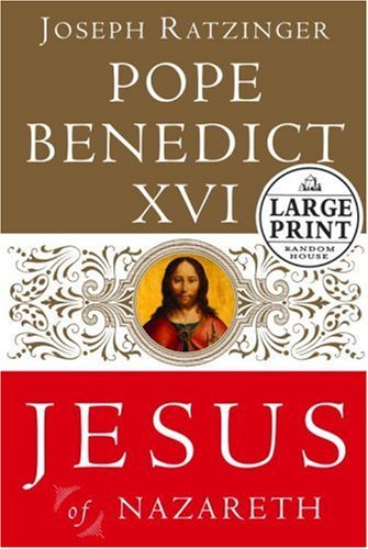 9780739327487: Jesus of Nazareth: From the Baptism in the Jordan to the Transfiguration (Random House Large Print)