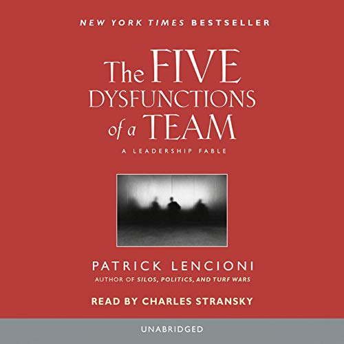 9780739332573: Five Dysfunctions of A Team: A Leadership Fable
