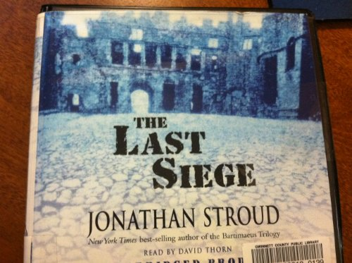The Last Siege (0739337920) by Jonathan Stroud