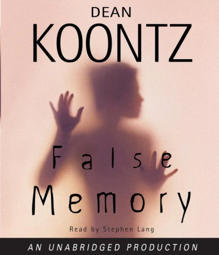 9780739341469: False Memory (Dean Koontz)