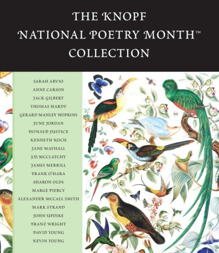 9780739343319: The Knopf National Poetry Month(TM) Collection