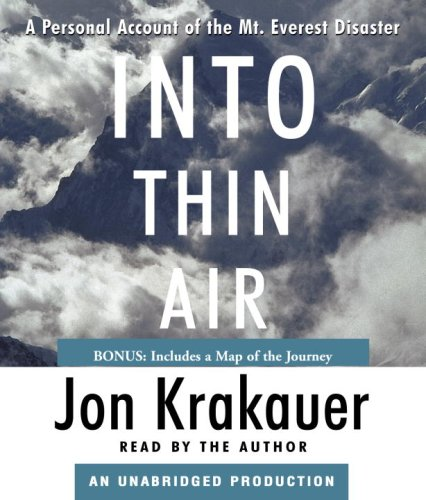 9780739343791: Into Thin Air: A Personal Account of the Mt. Everest Disaster