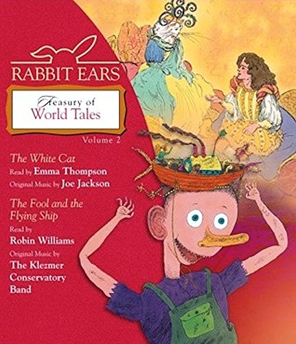 9780739350614: Treasury of World Tales, Volume 2: The White Cat, Fool and the Flying Ship (Rabbit Ears)