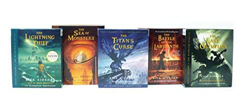 Percy Jackson and the Olympians Books 1-5 CD Collection: Rick Riordan