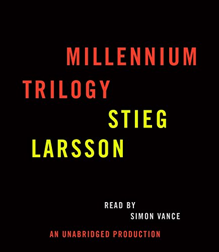 9780739352755: Stieg Larsson Millennium Trilogy Audiobook CD Bundle: The Girl with the Dragon Tattoo, The Girl Who Played with Fire, and The Girl Who Kicked the Hornet's Nest
