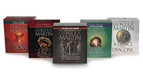 9780739352960: George R. R. Martin Song of Ice and Fire Audiobook Bundle: A Game of Thones / A Clash of Kings / A Storm of Swords / A Feast for Crows / A Dance With Dragons