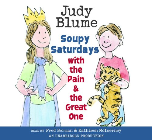 Soupy Saturdays with the Pain and the Great One: Judy Blume