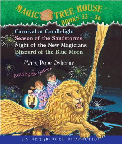 9780739362747: Magic Tree House: Books 33-36: #33 Carnival at Candlelight; #34 Season of the Sandstorms; #35 Night of the New Magicians; #36 Blizzard of the Blue Moon
