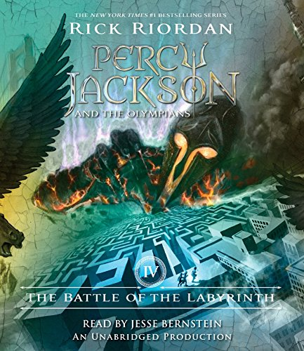 The Battle of the Labyrinth (Compact Disc): Rick Riordan