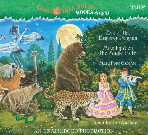 Magic Tree House Books 40 & 41, Eve of the Emperor Penguin, 2 Cds [Complete & Unabridged ...