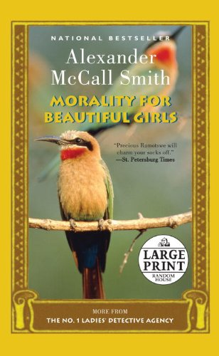 9780739378311: Morality for Beautiful Girls: A No. 1 Ladies' Detective Agency Novel