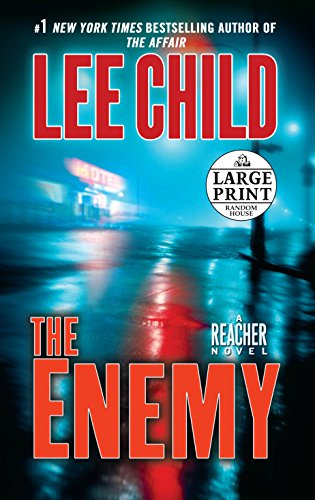 9780739378526: The Enemy: A Jack Reacher Novel (Random House Large Print)