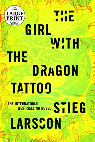 9780739384152: The Girl with the Dragon Tattoo (Random House Large Print)