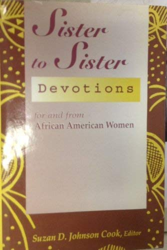 9780739401033: Sister to Sister: Devotions For and From African American Women