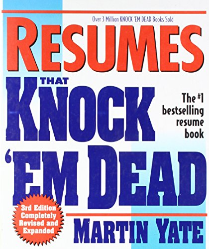 9780739401125: Resumes That Knock 'Em Dead