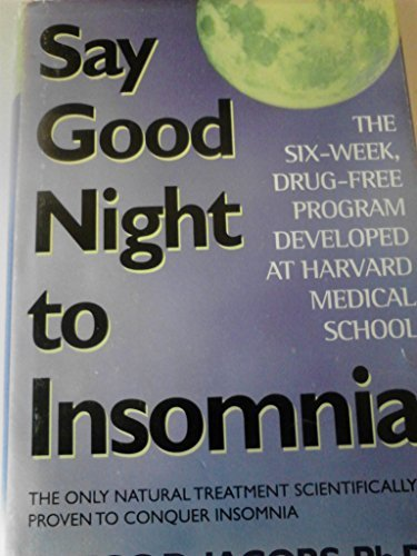 9780739401866: Say Good Night to Insomnia