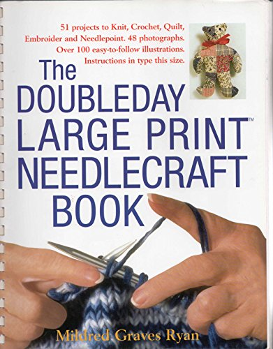 9780739404775: The Doubleday Large Print Needlecraft Book